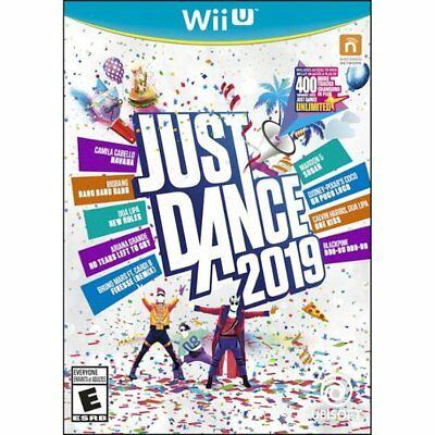 Just Dance 2019 Nintendo Wii U Brand New Factory Sealed Newest title