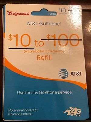 10 AT-T PREPAID - GO PHONE PIN Email Delivery REFILL