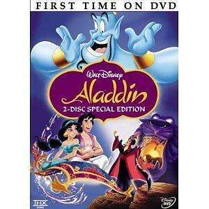 Aladdin DVD 2004 2-Disc Set Platinum Edition New