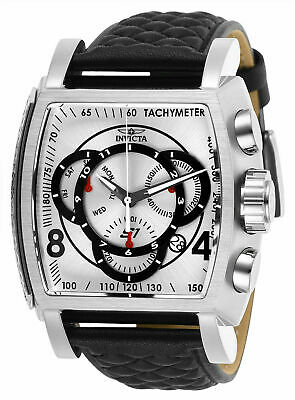 Invicta Mens 27918 S1 Rally Black Leather Watch