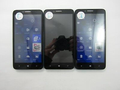 Lot of 3 Alcatel OneTouch Fierce XL 5055W T-Mobile Check IMEI Fair Cond- 5-392
