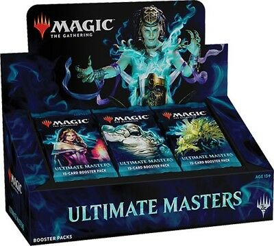 MTG Magic the Gathering Ultimate Masters Booster Box SEALED Preorder 120718