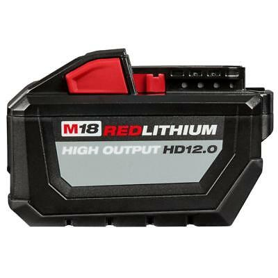 Milwaukee 48-11-1812 M18 RED LITHIUM High Output HD12-0 Battery Pack-2018