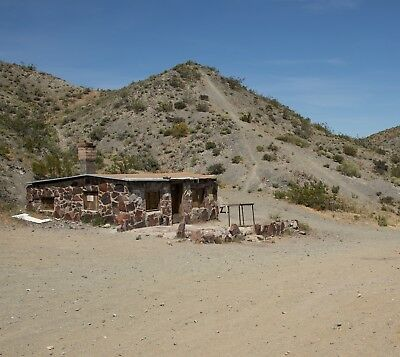 Gold Mining Placer Mine Claim Cabin CA