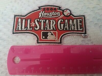 HOUSTON All-Star Game 2004 Iron-on Baseball Jersey PATCH 4 316  X 2 616