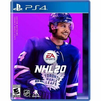 NHL 20 Playstation 4 PS4 Brand New Factory Sealed