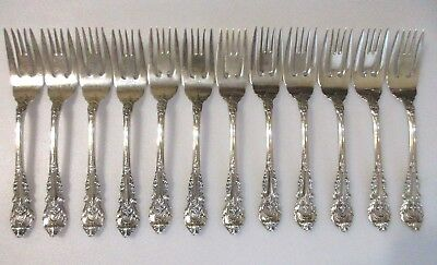 1 Wallace Sir Christopher Sterling Silver 6-38 Salad Dessert Fork 12 Avail