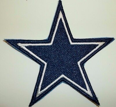 Dallas Cowboys Embroidered PATCH3 12 x 3 12Iron or Sew onNFLShips FREE