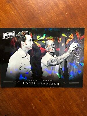 2018 Panini Black Friday Black Packs No-RS Roger Staubach SSP 0110
