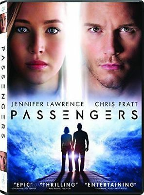 New Passengers on DVD - Jennifer Lawrence Chris Pratt Sci-Fi Fishburne Sheen