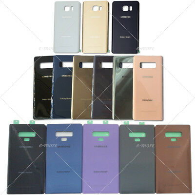 OEM Back Battery Glass Cover Replacement For Samsung Galaxy Note10 10- Note9 8 5