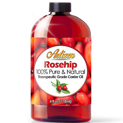 4oz Rosehip Oil by Artizen 100 PURE - NATURAL - Cold Pressed - Fresh