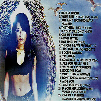 Best Of Aaliyah  Mix Edition Mixtape CD