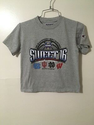 CHAMPION Youth 2016 NCAA Sweet 16 East Regional Tee Gray Size Youth Small6-7C6