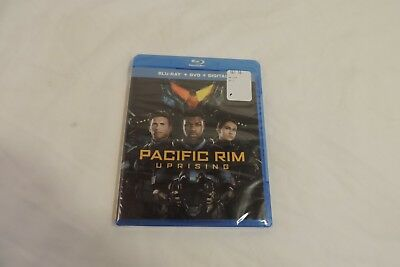 BRAND NEW PACIFIC RIM - UPRISING BLU-RAY - DVD 2018