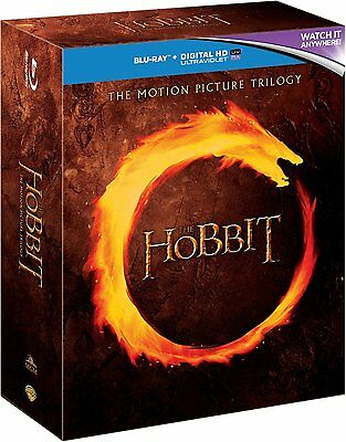 The Hobbit Trilogy Blu-ray 6 Discs Region Free BRAND NEWSEALED