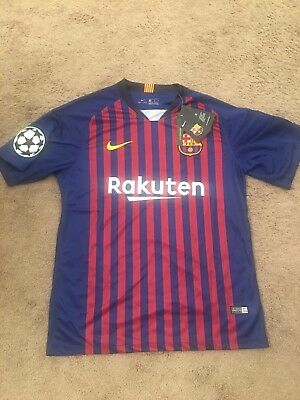 NEW FC Barcelona Messi Jersey Large Size