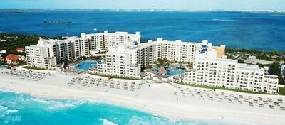 ROYAL SANDS RESORT CANCUN MEXICO TIMESHARE 2 BEDROOM BEACHFRONT LOCKOFF WEEK 33