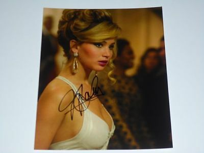 JENNIFER LAWRENCE AUTOGRAPH  8X10 PHOTOGRAPH MOTHER