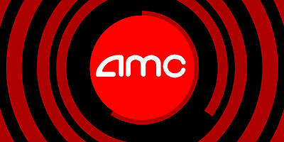 Qty 1 Gift Certificate for AMC Theaters Black MOVIE TICKET