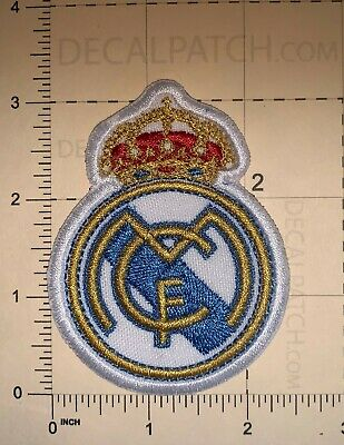 SPANISH SOCCER TEAM REAL MADRID C-F-  PATCH SEW NEW B397