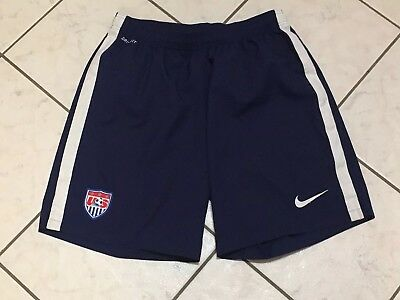 Authentic Nike Team USA Mens World Cup Soccer Shorts Size XL