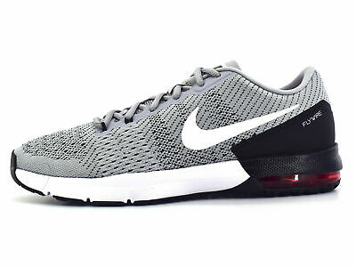 NEW Nike Mens Air Max Typha 820198-016 Wolf Grey - White Running Shoes Sz 11-5