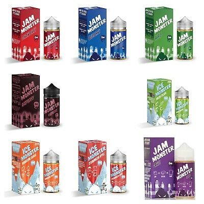 Jam Monster-ALL FLAVORS-100 Authentic-FREE U-S SHIPPING-