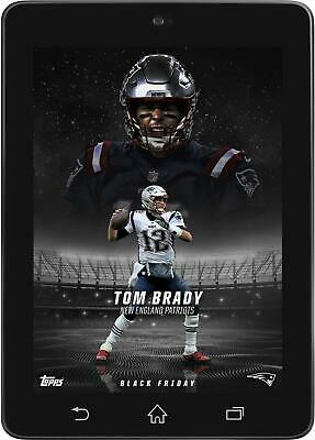Topps HUDDLE Tom Brady BLACK FRIDAY 2018 EXCLUSIVE BUNDLE DIGITAL CARD