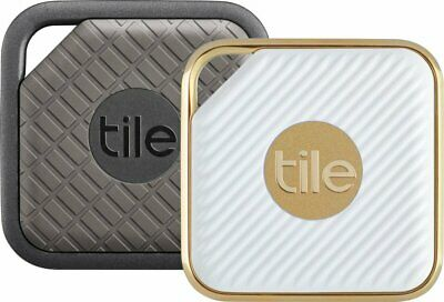 Tile Pro Bluetooth Smart Locator Tags for Valuable Items  - Sport - Style 2-Pack