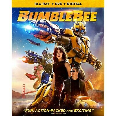 BUMBLEBEE Blu-rayDVDDigital CASE SLIP COVER CODE - ALL DISC PRESALE