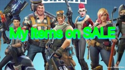 FORTNITE SAVE THE WORLD MY SALE ITEMS