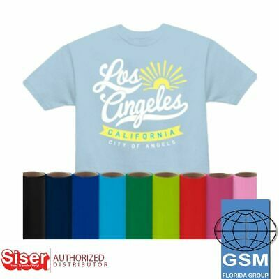 Siser Easyweed HTV Heat Transfer Vinyl 15 x 5 YARDS for T Shirts  Textiles