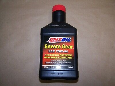 75W90 SEVERE GEAR FROM AMSOIL