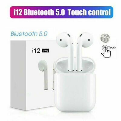i10 i12 i11 TWS Wireless Bluetooth 5-0 Earbuds Earphone for Apple iphone AIRPODS