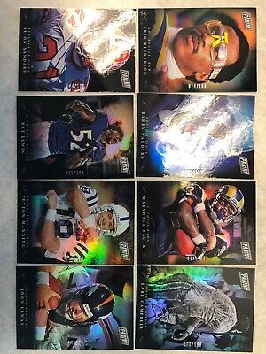 2018 panini black friday football 199 Set Of 8 Cards as Seen In Picture