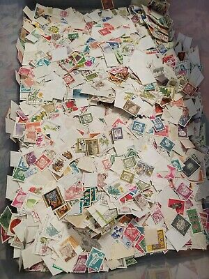 Germany Stamps Dutches Bundepost Lot of 1000- Collection Unchecked from Lg Hoard