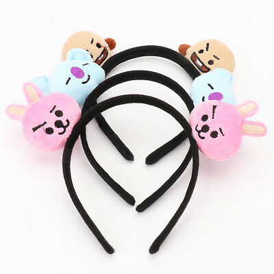 Kpop Idol BTS Hair Band Tie Bangtan Boys CHIMMY BT21 Tuck Comb Headband US