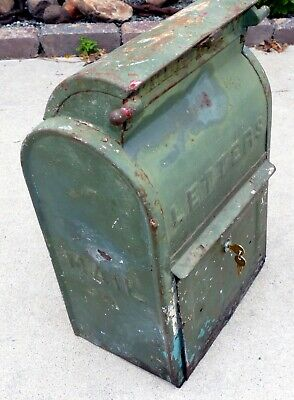 NEW Replacement Lock Cast Iron US Mailbox Letter Mail Box - DanvilleBridgeport