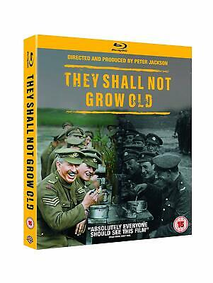 They Shall Not Grow Old w Slipcover Blu-ray 2018 Region Free NEWSEALED