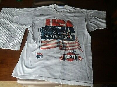 Vintage NBA DREAM TEAM t shirt Size Large