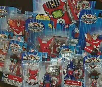 Digimon Fusion Figure Toy Lot