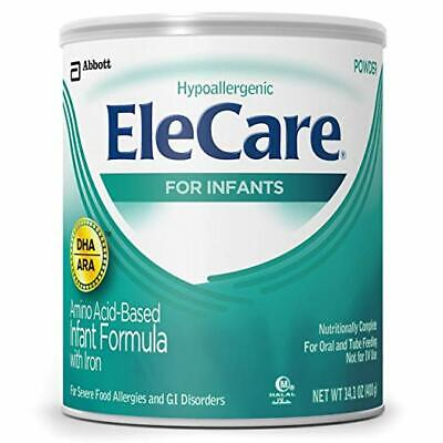EleCare For Infants 0-12 months Unflavored Powder with DHAARA 14-1OZ