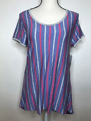 Lularoe Classic T XS  Stripped Shirt AMERICAN Fourth of July NWT