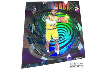 2018-19 Lebron James Revolution Cubic Supernova 50