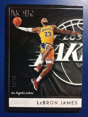 LEBRON JAMES 2018-19 Panini NOIR CARD 88 ICON EDITION D 6885