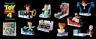 Pick Ur Favorite McDonalds 2019 Toy Story 4 Happy Meal Toys New Super Fast Ship