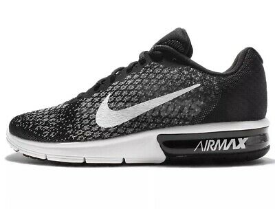 New NIKE AIR MAX SEQUENT 2 Men's Sneakers Size 13  BlackWhite With Box