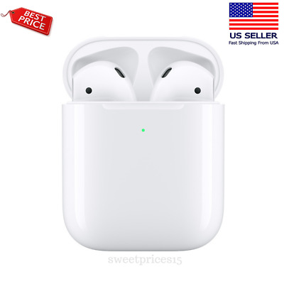 New Apple AirPods 2nd Generation with Charging Case