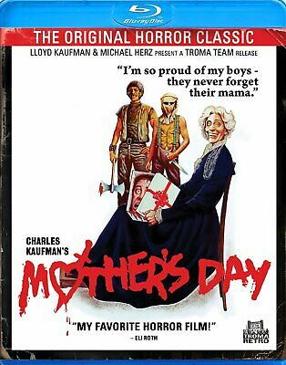MOTHERS DAY 1980 - BLU-RAY - RARE OOP - NEW SEALED